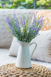 Mor Narkissos Yapay Çiçek