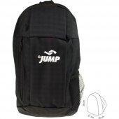 Jump 1010 Seyehat Gezi Antreman Unisex Sırt Çantası Siyah