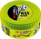 New Well Shine Strong Yeşil Parlak Sert 150 Ml Wax...