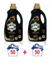 Abc Sıvı Siyahlar Çamaşır Deterjanı Siyah 50 Yıkama 3 Litre X2