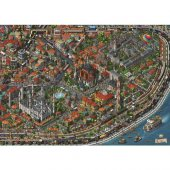 Anatolian 3000 Parça Fractal İstanbul Puzzle 4913