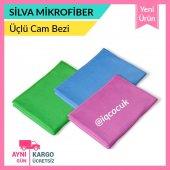 Silva Mikrofiber 3lü Cam Bezisilva Mop 3lü Set