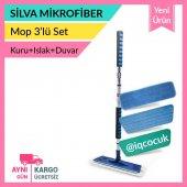 Silva Mikrofiber Mop Teleskopik 3lü Setsilva Mop 3lü Set