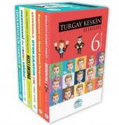 Turgay Keskin Kitapları 6 Kitap Set Kitap