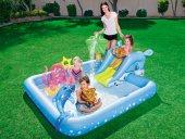 Bestway Kaydıraklı Fıskiyeli Oyun Havuzu+şişme Oyuncak+pompa
