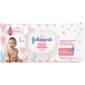 Johnsons Baby Islak Mendil Hassas 72li 24 Adet