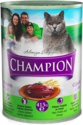 Champion Ciğerli Kedi Konservesi 24 Adet X 415 Gr