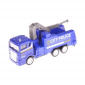 Erdem 889 167 Metal Vinçli Mavi İş Makinesi