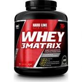 Hardlıne Whey 3 Matrix Protein 2300 Gr