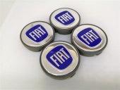 Fiat Mavi 57mm Çelik Jant Göbek Kapağı