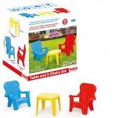 3007 Masa Ce 2li Sandalye Seti