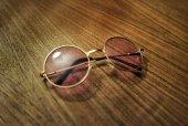 Mor John Lennon Gözlük