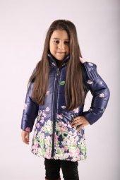 Milan Çocuk Club 2 Yaş Kız Çocuk Mont Kaban 3 Fark...