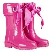 Igor W10114 Campera Charol Kız Çocuk Su Geçirmez Yağmur Kar Çizmesi Pembe
