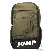 Jump 1057 Okul Seyehat Gezi Antreman Unisex Sırt Çantası Haki