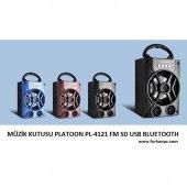 Müzik Kutusu Platoon Pl 4121 Fm Sd Usb Bluetooth