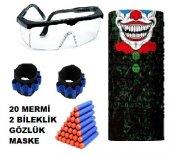 Nerf Gözlük + Nerf Mermi 20 Adet + Maske + 2...