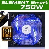 High Power 750w 80+ Bronze Element Smart Mavi...