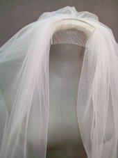 Hayal Tül Taraklı Gelin Duvağı 1 Mt Adana Gelinlik Suzanna Moda