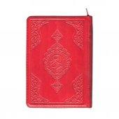 çanta Boy Kuran I Kerim (Kırmızı Renk, Kılıflı, Mühürlü)